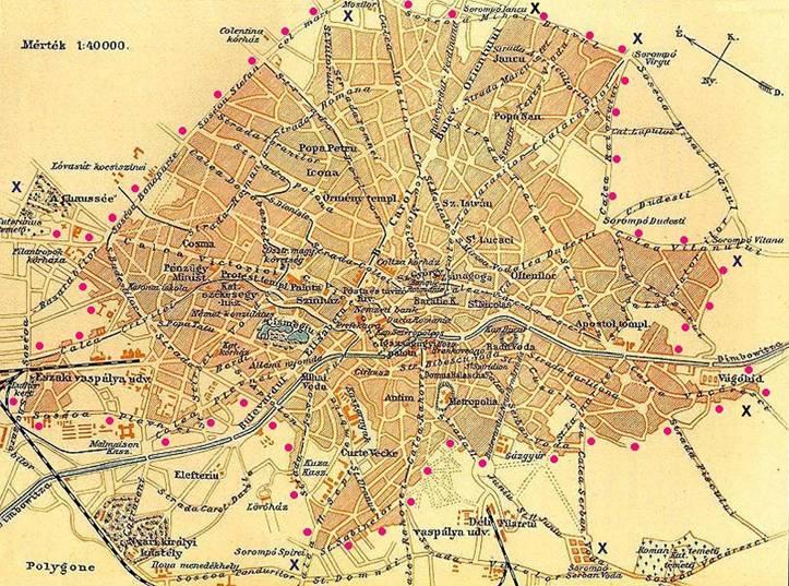 Bucuresti 1909 Orasul Strazile Oamenii Alive